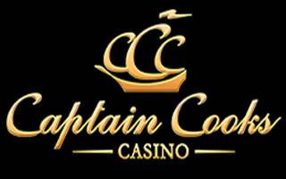 L'iconique casino Captain Cooks.