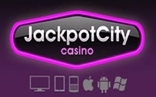 Le logo du casino Jackpot City - une marque de confiance au Canada.