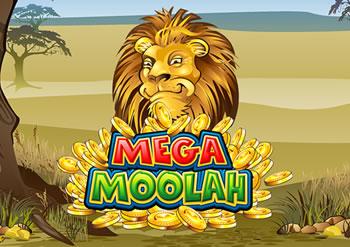 L'icône de la slot Mega Moolah - Le lion, le roi des animaux.