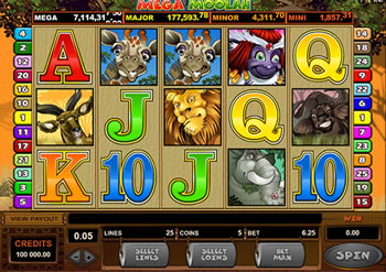La machine progressive avec le plus gros jackpot de tous les casinos.