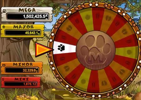 Faire tourner la roue pour décrocher le jackpot.