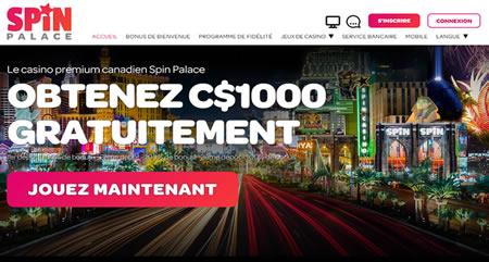Machine à sous gratuite pour se former - Chez Spin Casino.