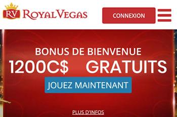 Royal Vegas est autorisé à proposer Interac