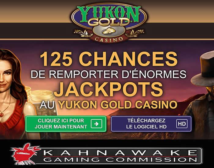 Yukon Gold Casino Kahnawake - Inscrit au Québec - Des machines à sous en ligne en argent réel