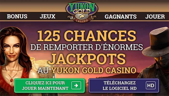 Le joueur a réalisé cet exploit sur ce casino - Yukon Gold est définitivement un casino en ligne qui marche bien