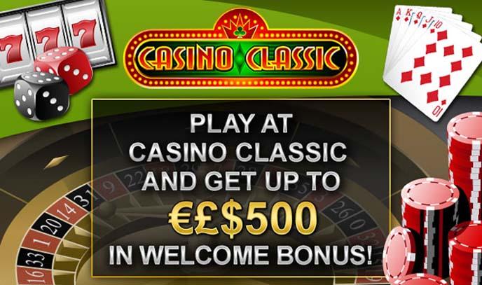Casino Classic est un site où les Canadiens peuvent jouer au Mega Vault Millionaire