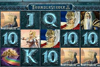 Thunderstruck 2 - machine à sous rentable