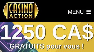 Casino Action au Canada