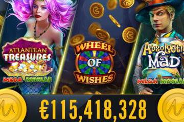 Les machines progressives de casino payent des millions chaque mois