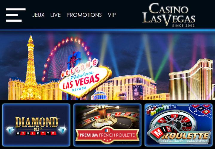 Site du casino de Las Vegas en ligne